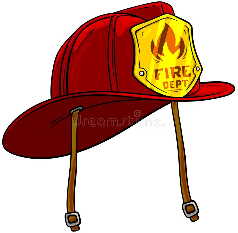 Firefighter Helmet Stock Illustrations.