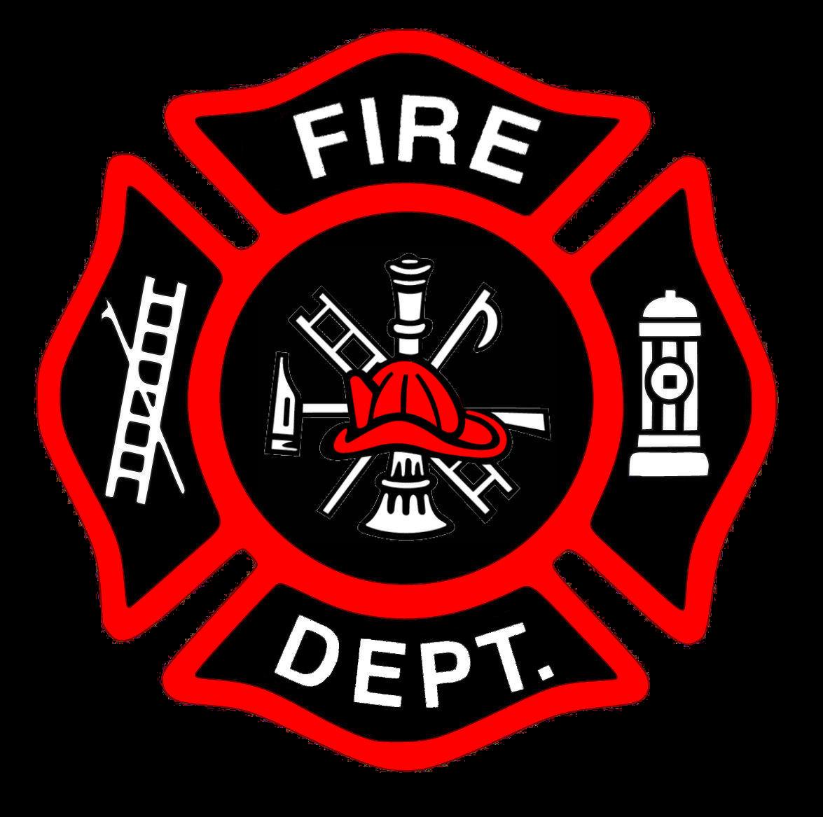 Firefighter Logo Clipart.