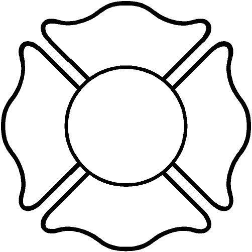 Fire maltese cross clip art; Firefighter Cross Clipart.