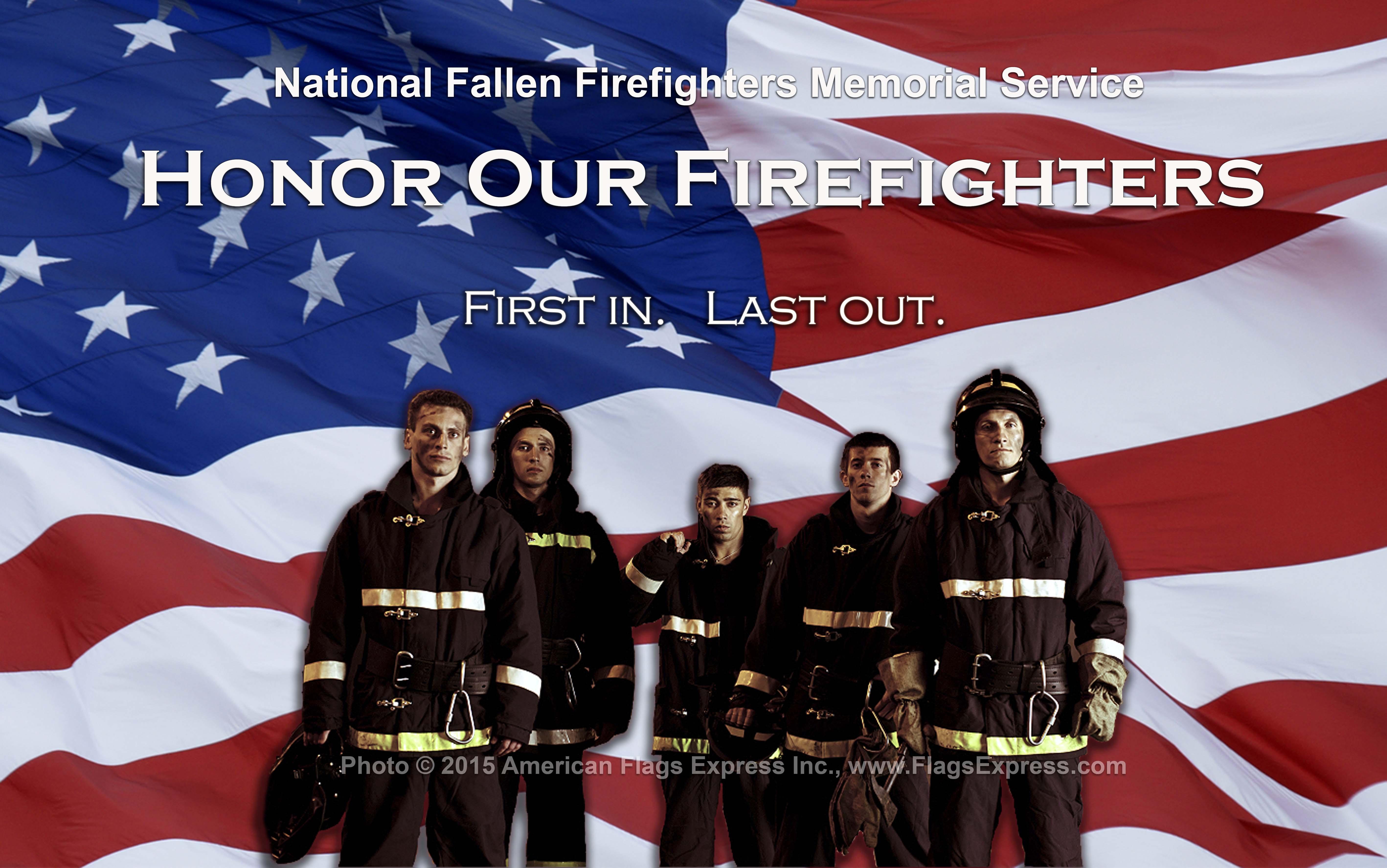Firefighter Memorial Day 2016 Clipart.