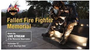 Firefighter memorial day 2016 clipart.