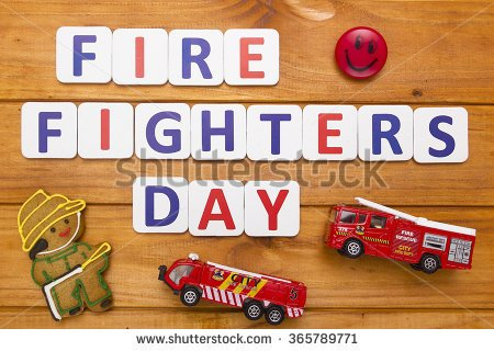 National Firefighters Day 2016 Clipart.