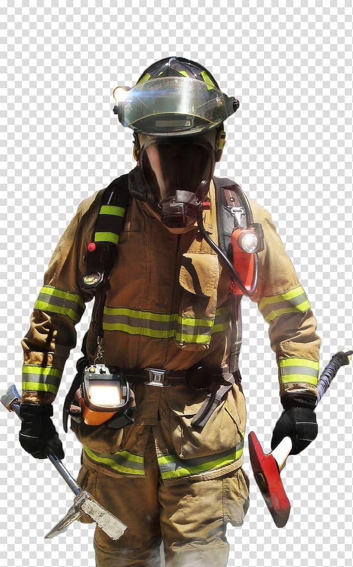Firefighter Bunker gear Fire department Firefighting, firefighter.