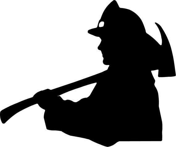 Free Firefighter Silhouette Cliparts, Download Free Clip Art, Free.