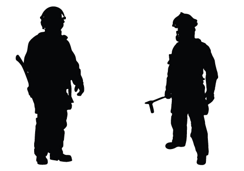 Free Firefighter Silhouette Cliparts, Download Free Clip Art.