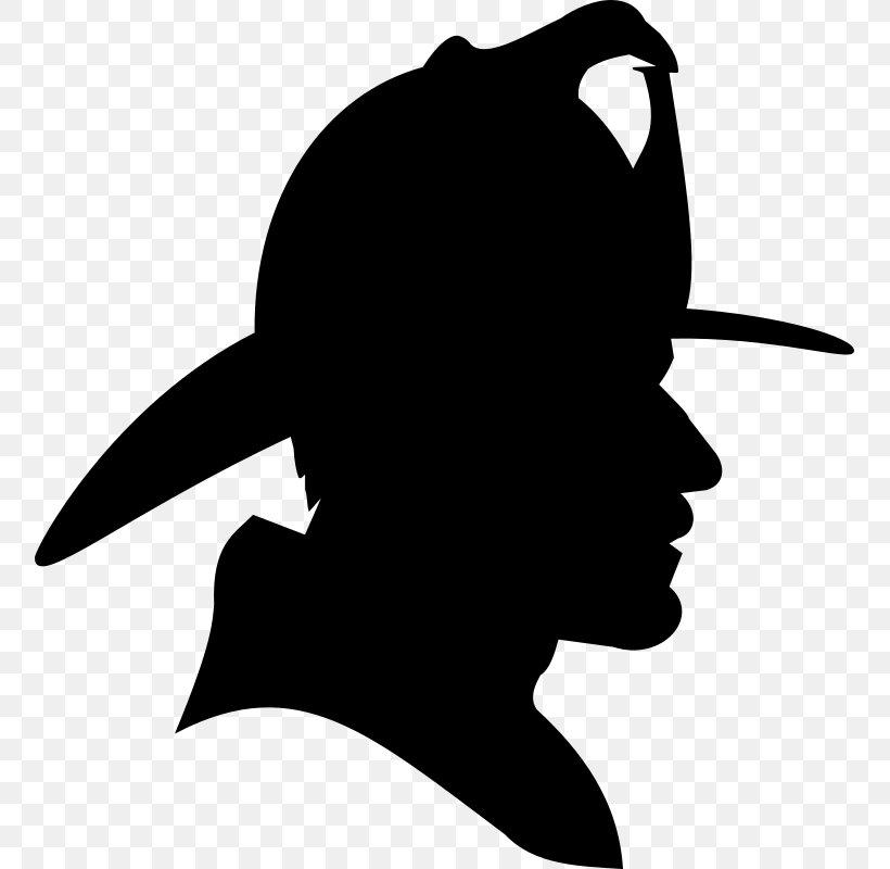Firefighter Silhouette Fire Department Clip Art, PNG.