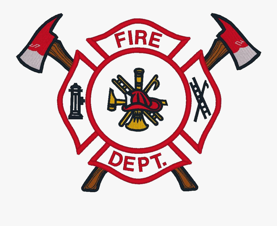 Transparent Firefighter Badge Clipart.