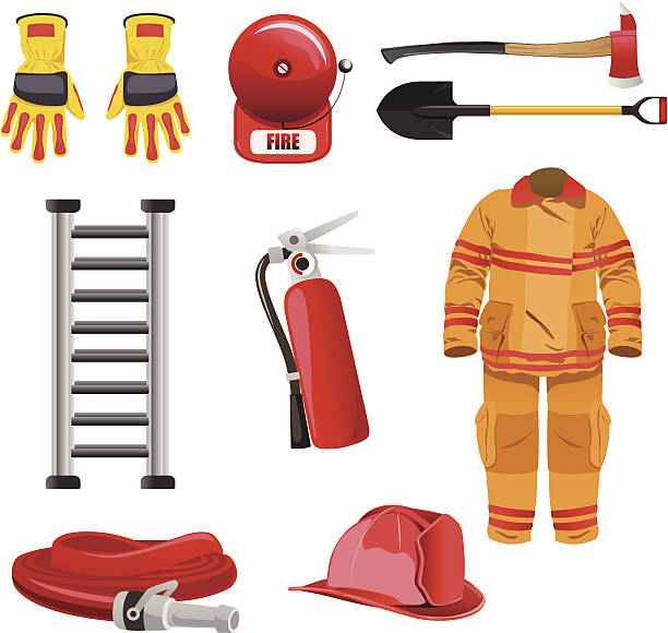 Top 60 Firefighter Gear Clip Art, Vector Graphics and Illustrations.