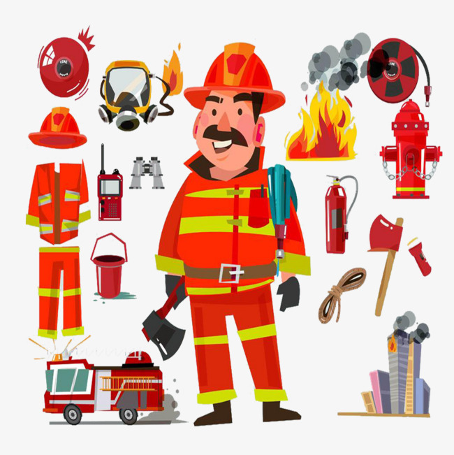 Firefighter Tools Png & Free Firefighter Tools.png Transparent.