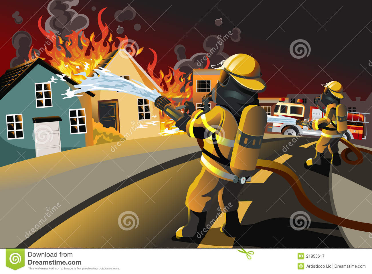 Firefighter Work Clipart Clipground