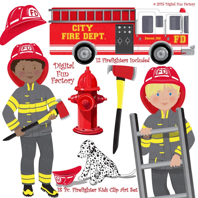 Fireman Clip Art
