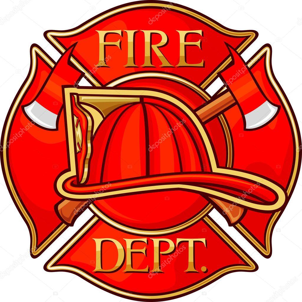 Firefighters maltese cross clip art.