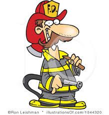 firefighters nat work clipart #5