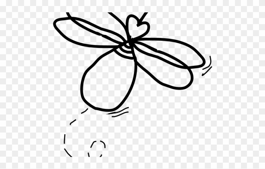 Firefly Clipart Sketch.