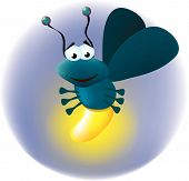 Animated Fireflies Clipart.