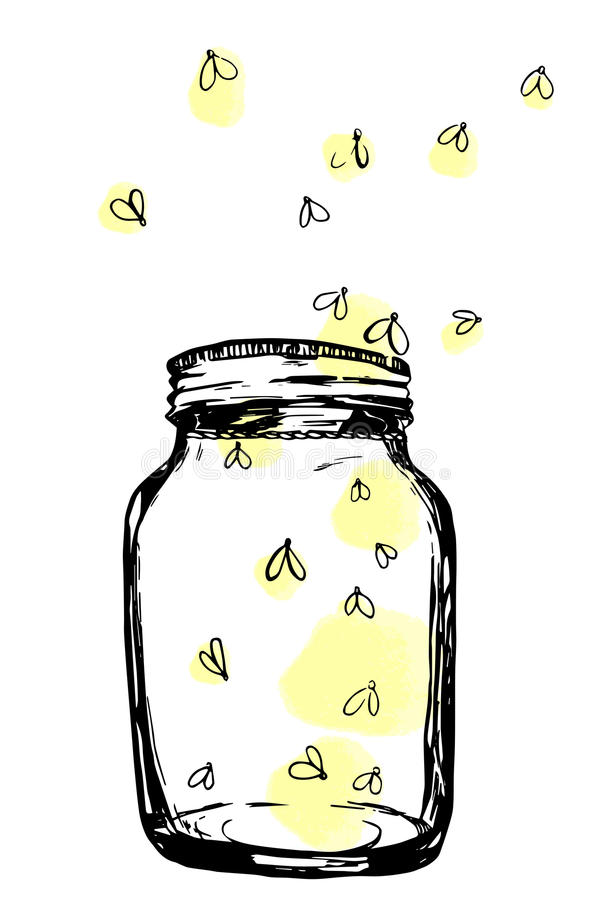 Collection of Fireflies clipart.