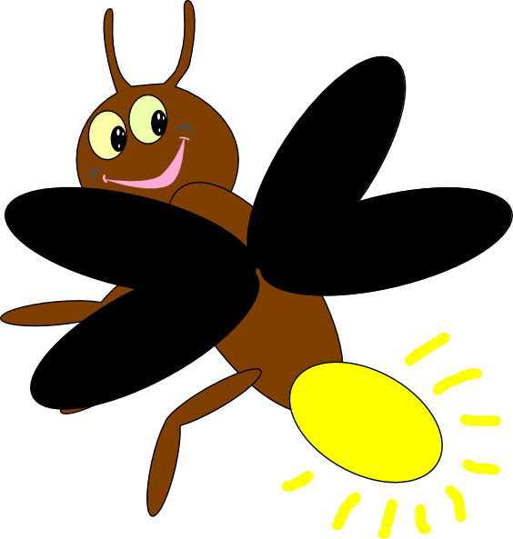481 Firefly free clipart.