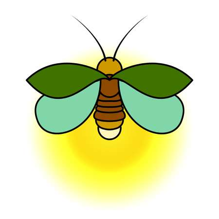 Lightning bugs clipart 6 » Clipart Station.