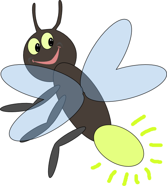 Firefly Insect Clipart.