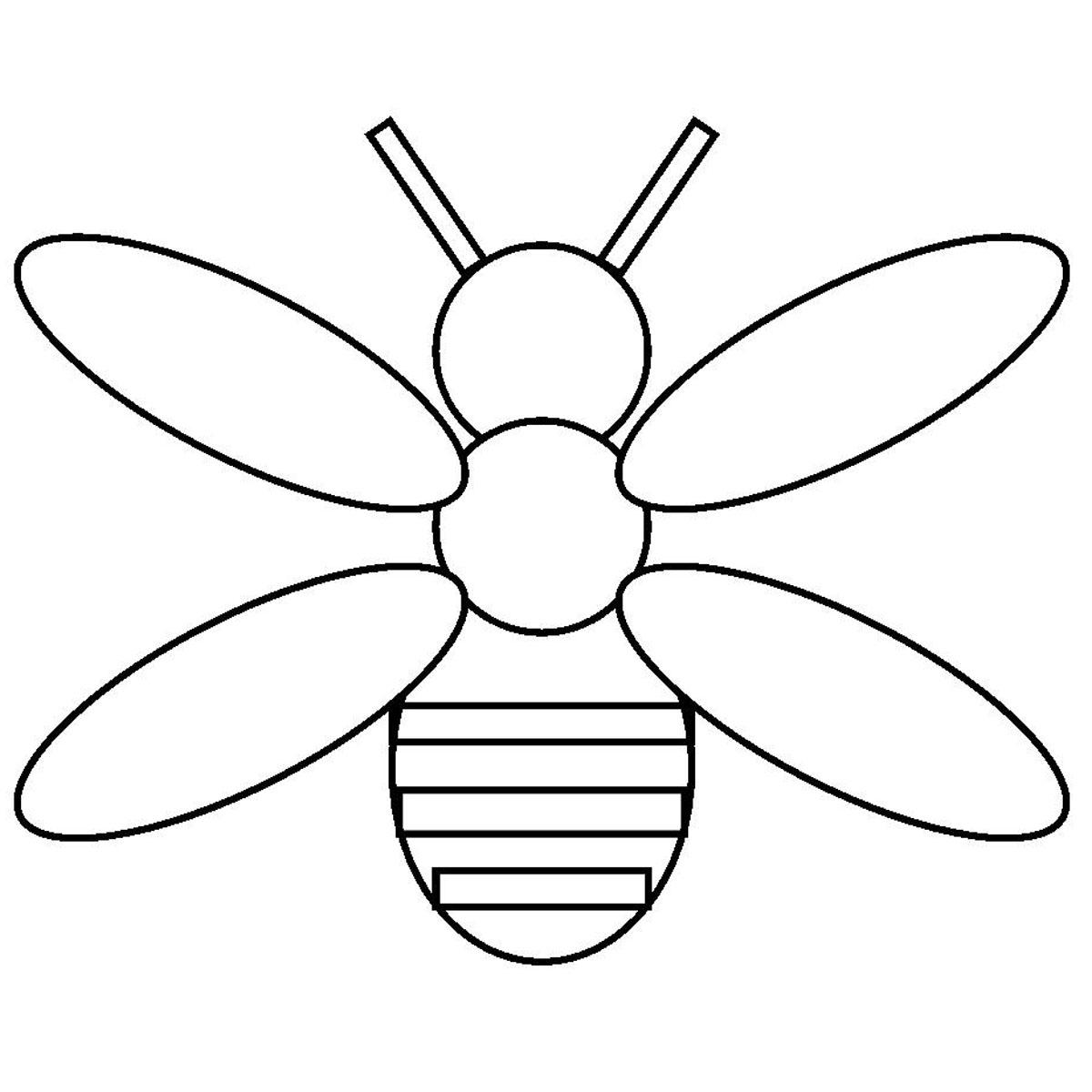 Best Free Firefly Black And White Clipart File Free » Free Vector.