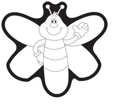 Firefly clipart black and white 2 » Clipart Station.