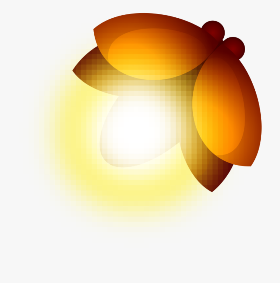 ftestickers #clipart #insect #firefly #luminous.