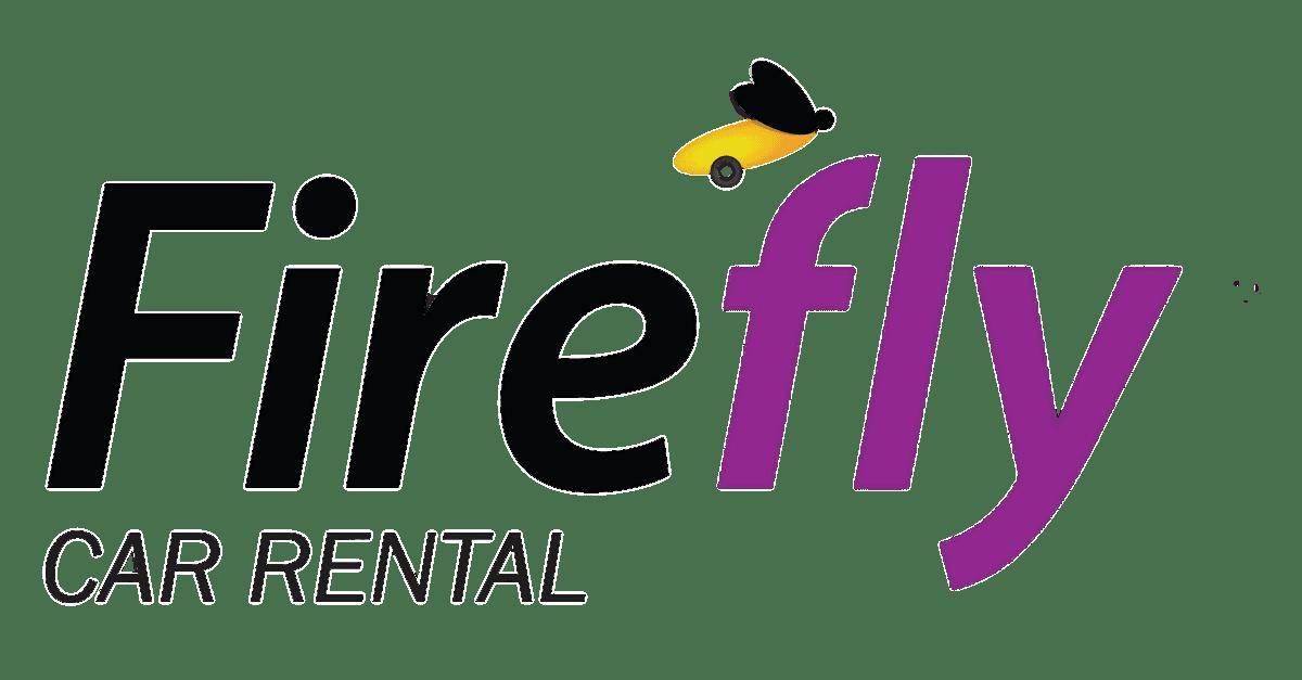 Firefly Car Rental Logo transparent PNG.