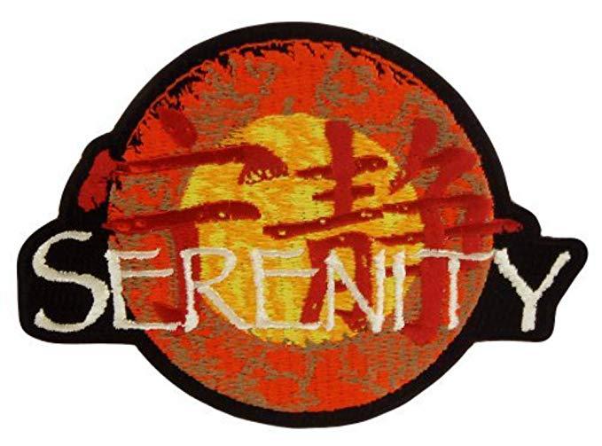 Firefly Serenity Logo Patch.
