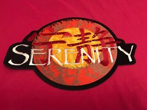 Details about Firefly Serenity Logo Back Patch 11 Inches Brand New Iron On.