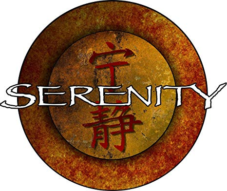 Firefly Serenity Logo Repositionable Wall Decal Sticker  Graphic.
