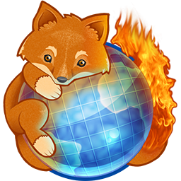 Cute Mozilla Firefox Icon, PNG ClipArt Image.