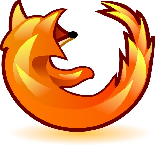 Firefox cliparts.