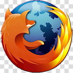 Firefox Icon and ICO, firefox transparent background PNG.