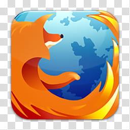 Quadrat icons, firefox, Mozilla Firefox icon transparent.