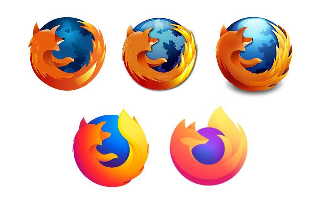 Firefox\'s new logo has more fire, less fox.