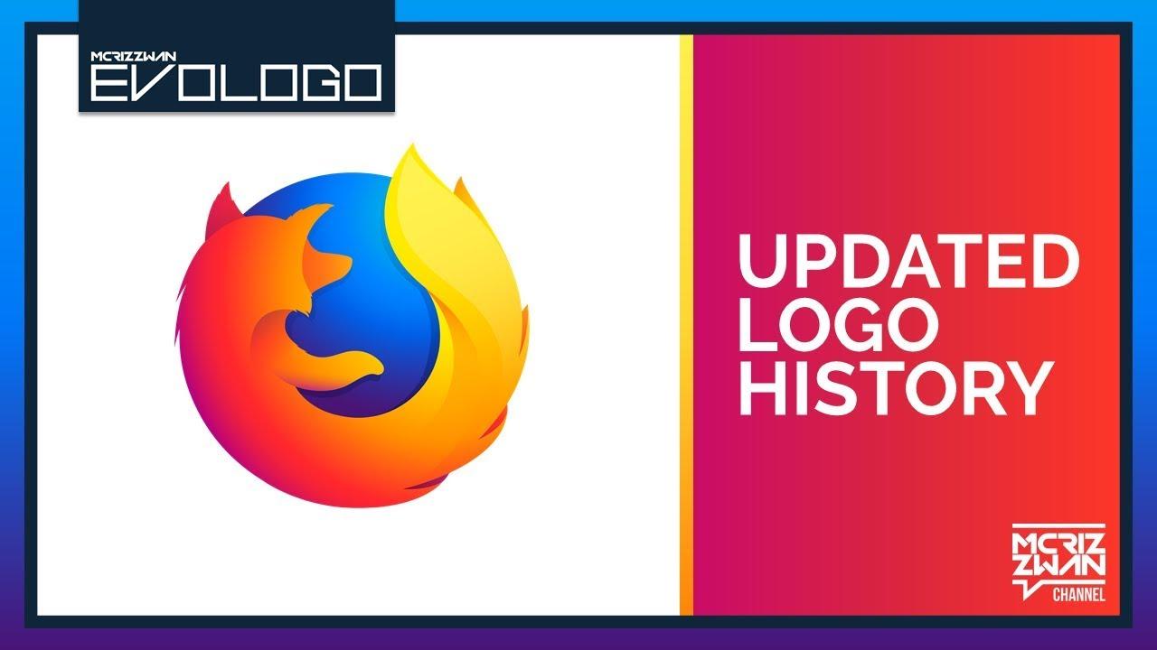 Mozilla Firefox Updated Logo History.