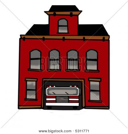 Firehouse Stock Photo & Stock Images.