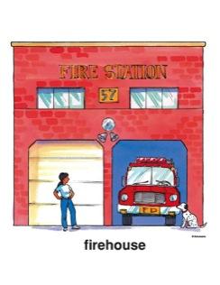 Firehouse Clip Art.