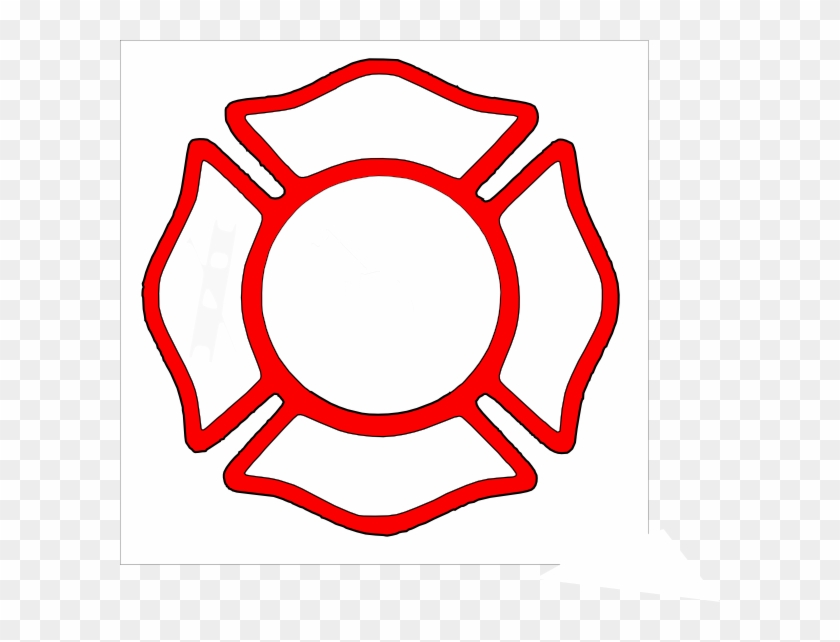 19 Firefighter Badge Graphic Black And White Download.