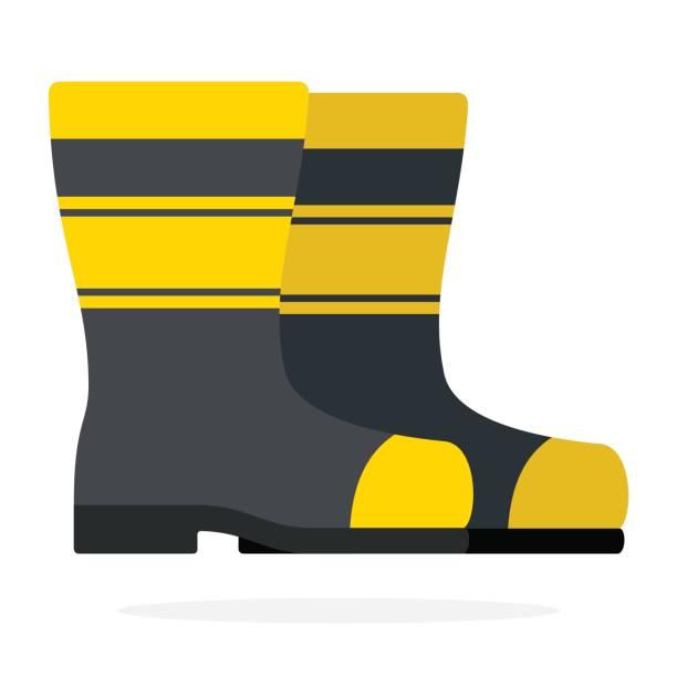 Best Fireman Boots Illustrations, Royalty.