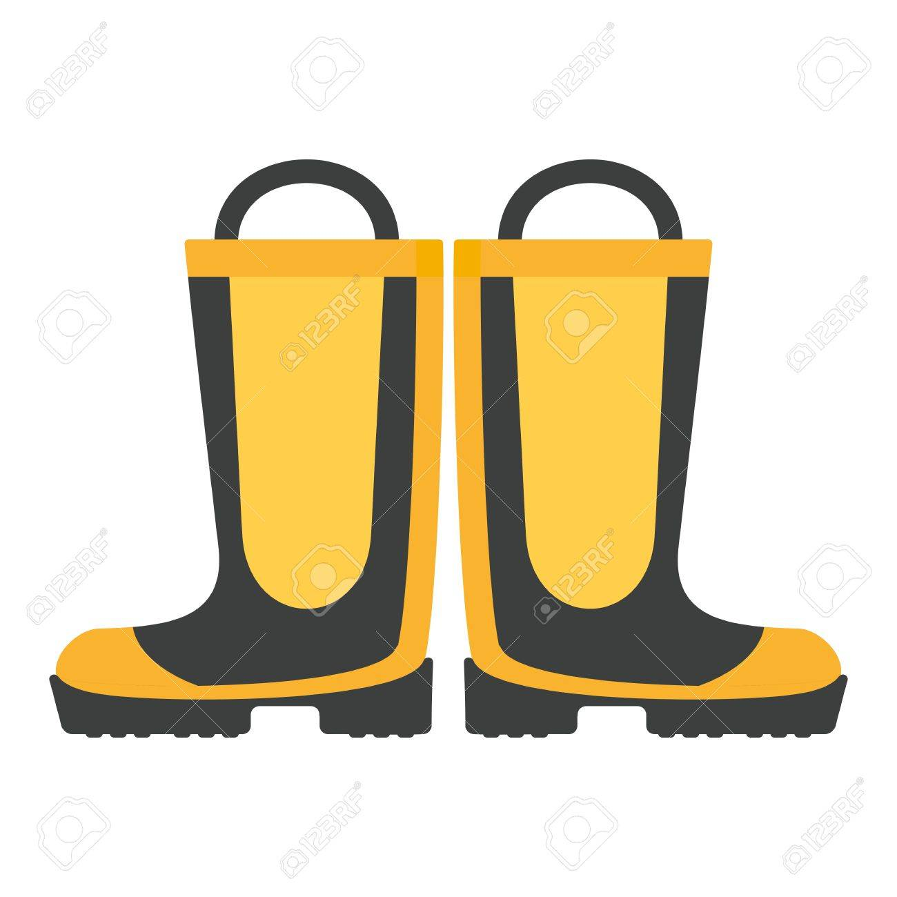 Fireproof boots. Firefighter equipment and clothing, tools, accessories..