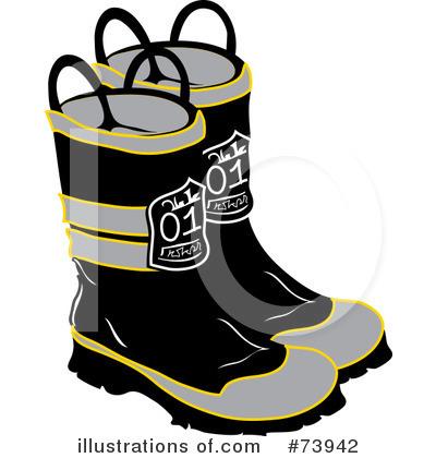 Fire Boots Clip Art.