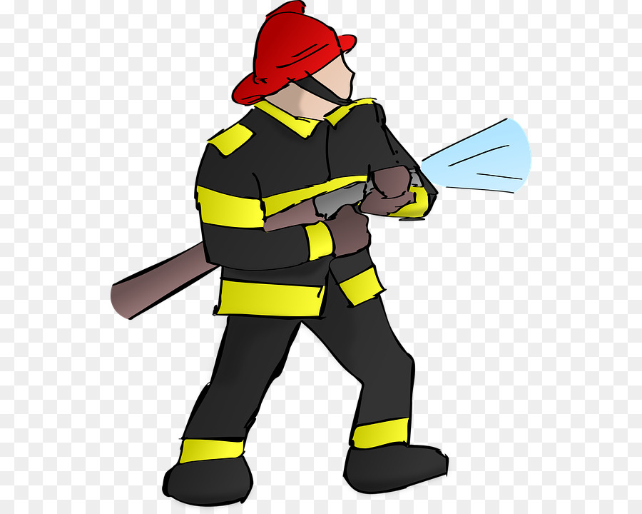 Fireman Cartoon clipart.