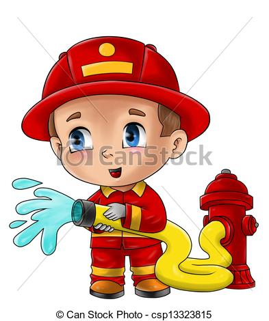 Fireman Stock Illustrations. 5,679 Fireman clip art images and.