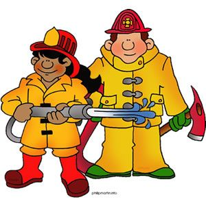 Clipart Firefighter.