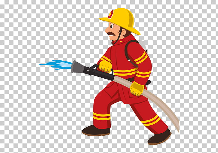 Firefighter Cartoon Fire department , fireman PNG clipart.