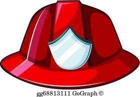 Fire Helmet Clip Art.