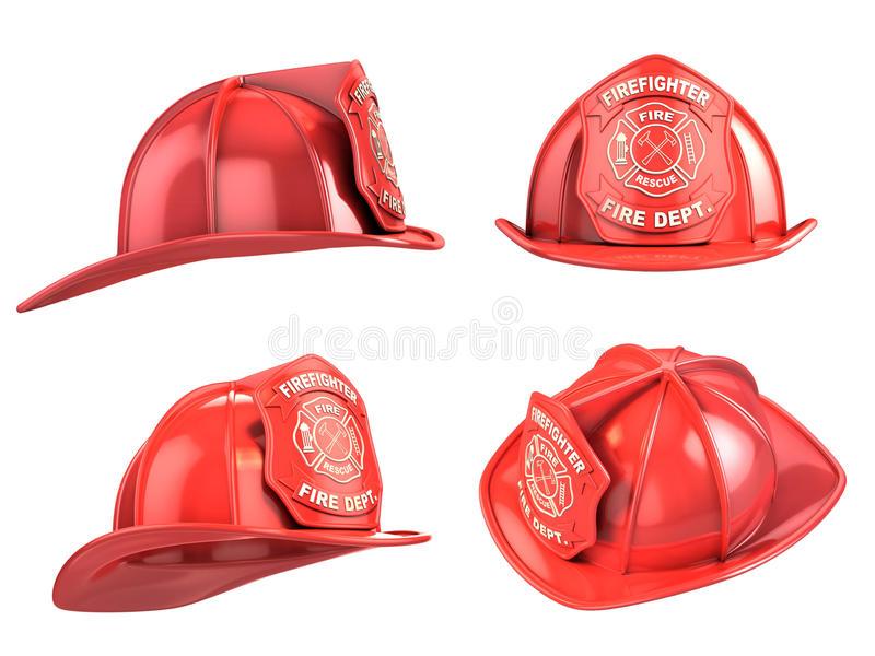 Fireman Helmet Stock Illustrations.