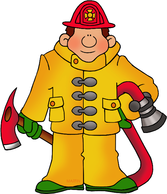 Firefighter Clipart Teacher.
