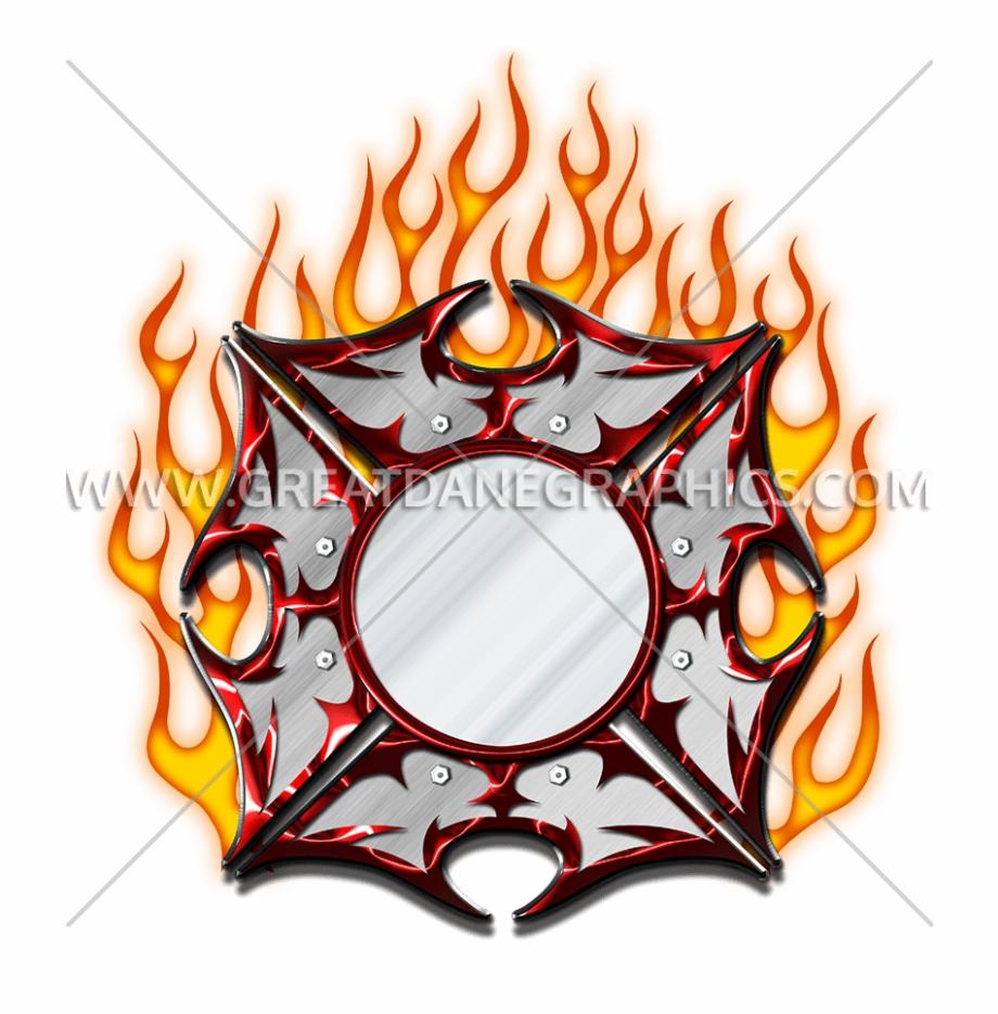 Fire Maltese Cross.